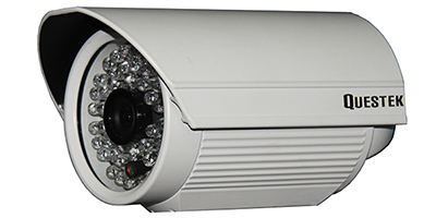 "QUESTEK -- QTC-203: Camera thân hồng ngoại 1/3"" Super Exwave SONY CCD 480 TVL"