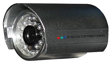 "QUESTEK - QTC-207c: Camera thân hồng ngoại 1/3"" Super Exwave SONY CCD 500 TVL"