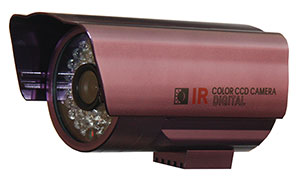 "QUESTEK - QTC-208c: Camera thân hồng ngoại 1/3"" Super Exwave SONY CCD 500 TVL"