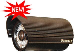"QUESTEK -- QTC-217c: Camera thân hồng ngoại 1/3"" Super Exwave SONY CCD 500 TVL"