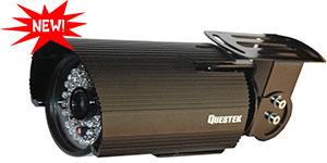 "QUESTEK -- QTC-218c: Camera thân hồng ngoại 1/3"" Super Exwave SONY CCD 500 TVL"