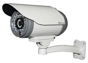 "QUESTEK - QTC-254c - Camera thân hồng ngoại 1/3"" Super Exwave SONY CCD 500 TVL"
