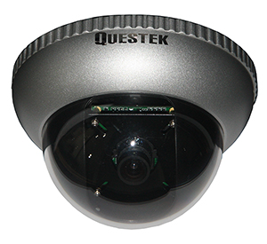 QTC-301H - QUESTEK - Camera Dome 1/3 Sony CCD, 560 TV Lines