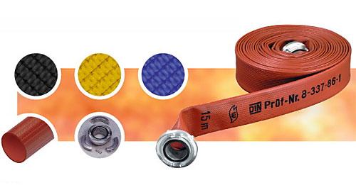 Vòi chữa cháy JAKOB - Synthetic Polydur - D50