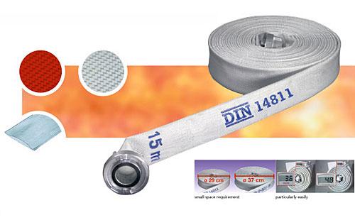 Vòi chữa cháy JAKOB - Synthetic X2000 - D50