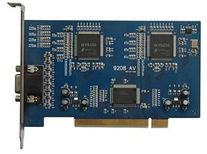 QUESTEK - QTK-9208: Card ghi hình 8 kênh